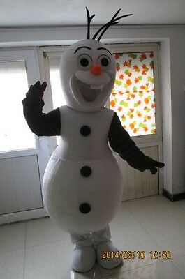 Local Costume (Olaf Mascot Costume Adult  4 Rent Local Pickup OR Shipping To Your)