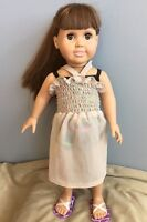 Doll Clothes - Sundress with swimsuit