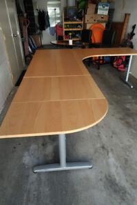 'GALANT' tabletop desk. Large. Great shape.  Offers accepted.