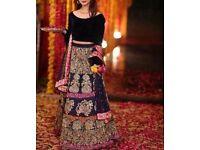 Asian wholesale dresses, velvet lehngas, wedding skirt, Kurta, trendy embroidered bridal sharara