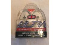 H7 Ultra Power Bulbs H7 Xenon Bulbs Upgrade Ultra H7 Power Bulbs 5000k