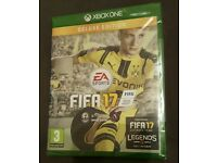 Fifa 17 XBOX ONE brand new unused sealed and unopened
