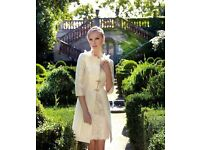 Carla Ruiz Mother of the Bride - Ivory Dress and Coat size 12-14 - Immaculate Condition