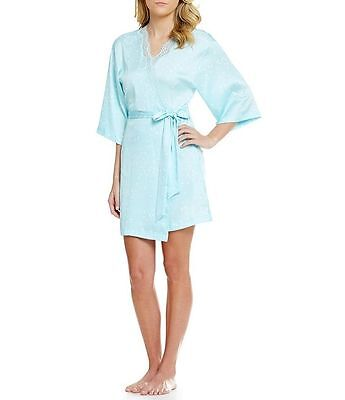 kate spade new york Dotted Charmeuse Robe  (size L/XL)