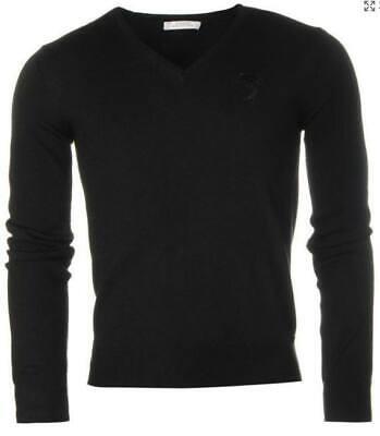 Versace Collection men's V neck black Jumper size XL