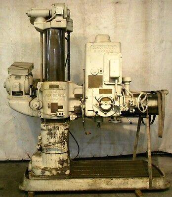 Cincinnati Bickford Super Service Radial Arm Drill Sn 3e-711 H-0238 4 X 13