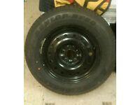215 65 16 Dunlop ST20 Grandtrek spare wheel