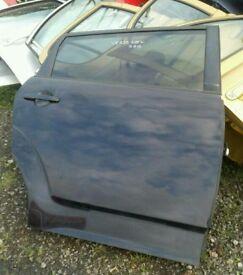 2007 toyota corolla verso osr door in black