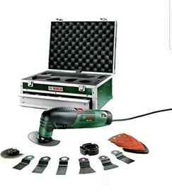Bosch PMF 190 E Multifunctional Allrounder with Tool Box & 16 pcs Accessories