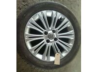"*WHEEL 2* VAUXHALL CORSA D 16"" ALLOY WHEEL WITH TYRE 195/55/R16"