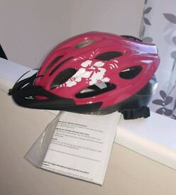 Brand New Cycle Helmet Girls Ladies Cycling Safety Helmet Fully Adjustable