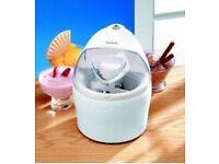 KENWOOD *ICE CREAM MAKER / MACHINE* Frozen Yogurt / Gelato Kitchen Appliance white (NEW!)