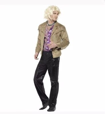Zoolander Hansel American Costume Movie Themed Fancy Dress Outfit RRP £35 Size M ()