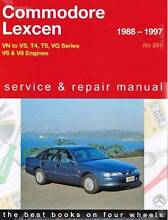 Holden Commodore & Toyota Lexcen VN to VS 1988 - 1997 Repair Book Blacktown Blacktown Area Preview