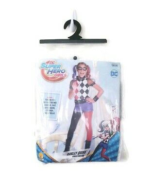 Dress Up Superhero (Harley Quinn Costume Kids Superhero Girl Halloween  Dress Up)