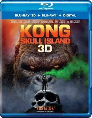 Kong  Skull Island  3D Blu Ray   Blu Ray   Digital Combo Pack