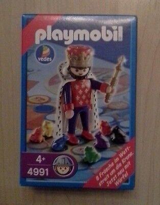 4991 Playmobil Vedes Spiel, König + 8 Frösche, von 2004, NEU OVP