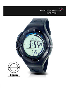 Weather Master Altimeter, Barometer, Compass Sports Watch