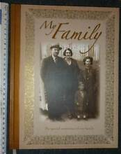 Photo Album-Diary-My Family-My Special Memories of Our Family-NEW Wembley Cambridge Area Preview