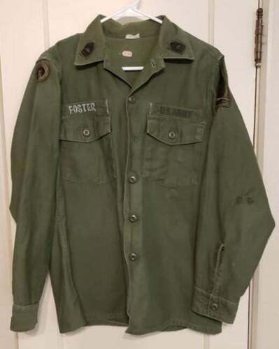 US Army 1966 Dated Named 2nd Armor Division Shirt
