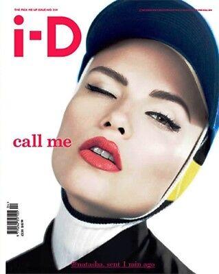 I-D Magazine #314 NATASHA POLY Emma Watson CLEMENT CHABERNAUD Karmen Pedaru @NEW
