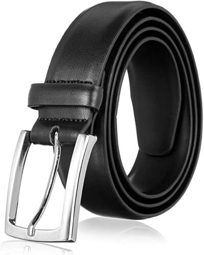 Mens Belt With Genuine Leather For Men Dress Causal Belt,1.3inch Width