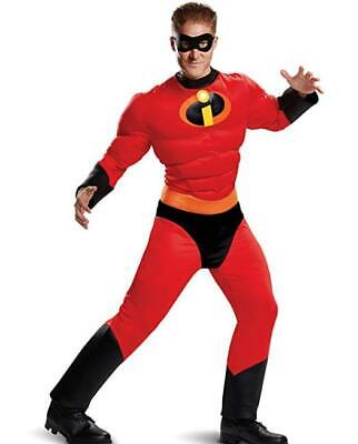Incredibles 2 Mr. Incredible Classic Muscle Adult Costume Size XXL 50-52 - Mr Incredible Costume Xxl