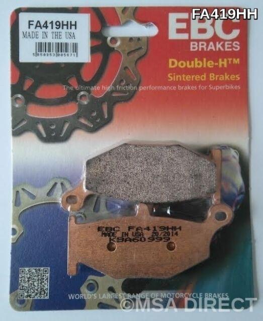 Suzuki DL1000 V-Strom (2014 to 2015) EBC Sintered REAR Brake Pads (FA419HH)