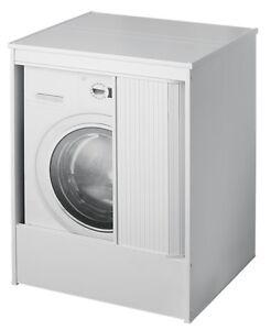 Armadio mobile lavatrice coprilavatrice rinforzato interno for Coprilavatrice da interno