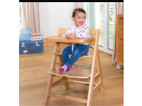Hauck high chair like a stokke trip trap