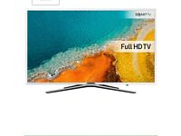 "White 49"" Samsung Full HD Smart LED TV UE49K5510 warranty and delivered"