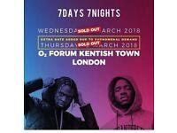 Krept & Konan's sold out show in O2 Kentish Town, London