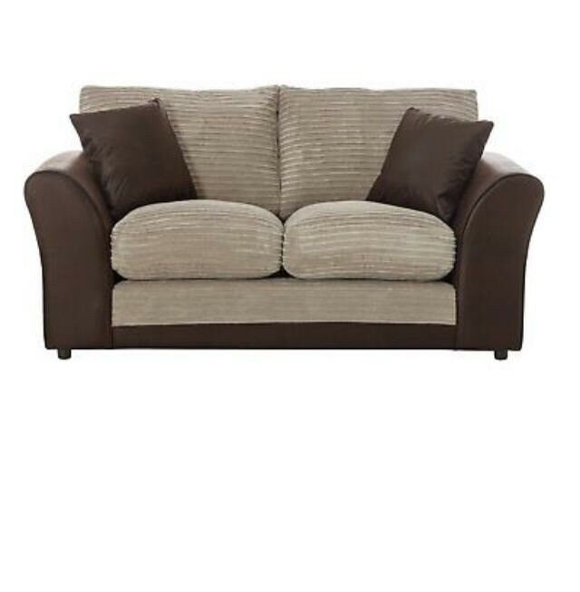Astounding 2X Argos Home Harry 3 Seater Fabric Sofa Home Harry 2 Seater Fabric Sofabed Natural In Birmingham West Midlands Gumtree Download Free Architecture Designs Crovemadebymaigaardcom