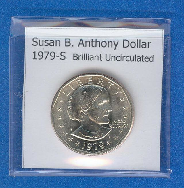 Brilliant Uncirculated 1979-S Susan B. Anthony Dollar