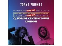 Krept and Konan tickets O2 Forum Kentish Town