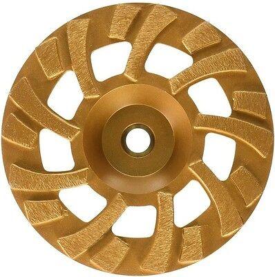 Mk Diamond Sdg-7 Floor Grinder Turbo Cup Grinding Wheel 7-inch 78-58 Arbor