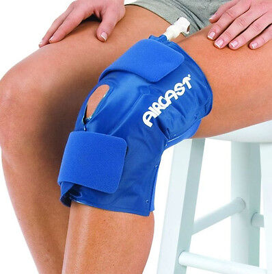 Aircast Knee Cryo Cuff Wrap Hot Cold Therapy Compression Ice