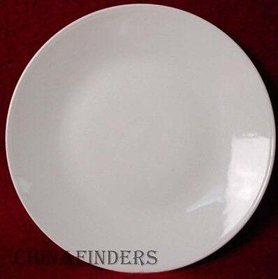 "ROSENTHAL china CLASSIC MODERN WHITE pattern DINNER PLATE 10-3/8"""
