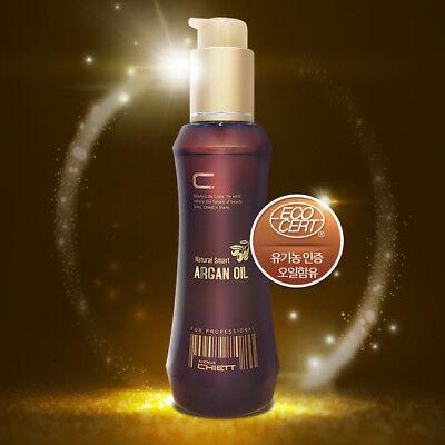 Chiett Organic Natural Smart Argan Oil 100ml Ecocert Hair Anti-Aging Hair Care