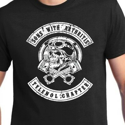 Sons Of Anarchy Spoof   Sons With Arthritis  Tee T Shirt   Up To 5X