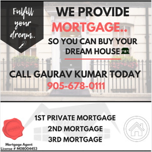 1ST PRIVATE , 2ND MORTGAGE & THIRD MORTGAGE SAMEDAY APPROVAL