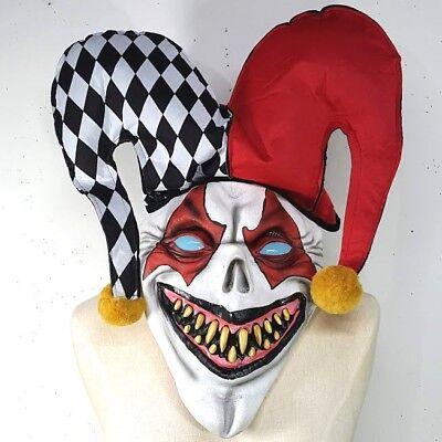 Scary Twisted Joker Halloween Costume & Mask Medium Wicked Wonderland Don Post - Scary Joker Costume