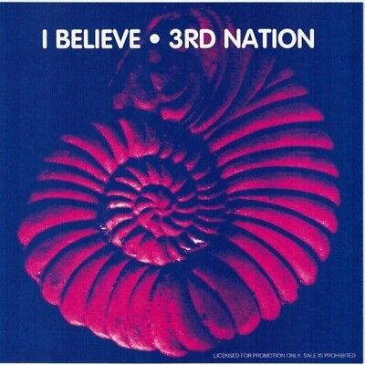 3Rd Nation   I Believe  Cd 1994  5 Tracks