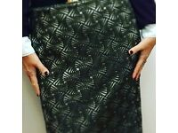 "As seen on ""This Morning"" - NEXT Brocade Pencil Skirt: Size 10"