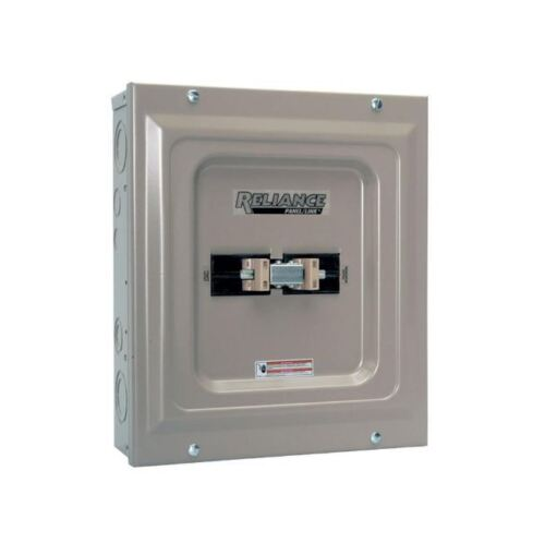 100-Amp Transfer Switch, Utility/Generator Double-Pole Manual Transfer Switch