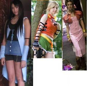 ffx , ffviii and ffvii cosplay outfits Cranbourne Casey Area Preview