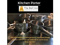 Kitchen Porter - Full Time