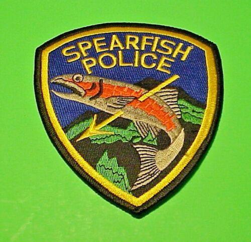 "SPEARFISH  SOUTH DAKOTA  SD  4 1/2""  POLICE PATCH   FREE SHIPPING!!!"