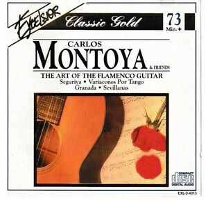 Carlos-Montoya-The-Art-of-the-Flamenco-Guitar-Excelsior-Classic-Gold-CD