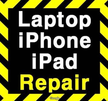 Repair Laptop,iPhone,iPad,Macbook, IT System Support, Maintenance